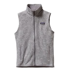 Patagonia Better Sweater Gray Full Zip Vest